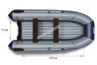 Моторно-гребные лодки Флагман